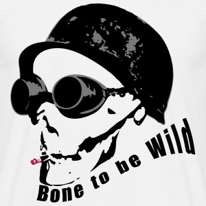 Bone to be Wild - Men's T-Shirt