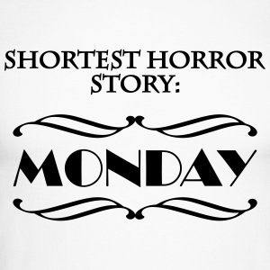 Shortes horror story: Monday Manches longues - T-shirt baseball manches longues Homme