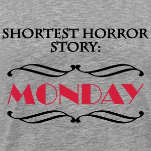Shortes horror story: Monday Tee shirts - T-shirt Premium Homme