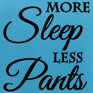 More sleep, less pants Abbigliamento sportivo - Top da donna traspirante