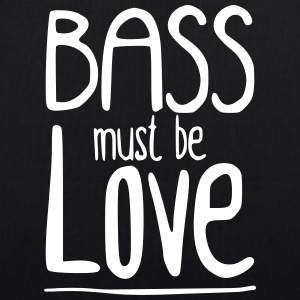 Bass must be Love Bags & Backpacks - EarthPositive Tote Bag