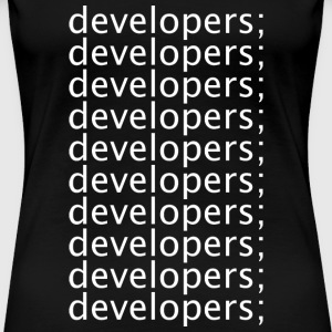 Developers - Women's Premium T-Shirt