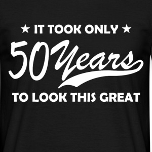50 years T-Shirts - Men's T-Shirt