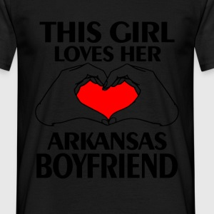 arkansas boyfriend T-Shirts - Men's T-Shirt