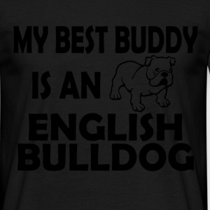 best buddy english bulldog T-Shirts - Men's T-Shirt