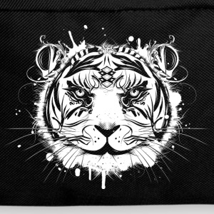 Head of a white tiger Bags & Backpacks - Backpack
