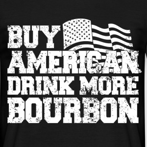 buy american bourbon - Men's T-Shirt