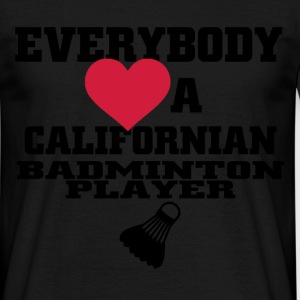 californian badminton T-Shirts - Men's T-Shirt