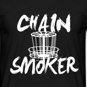 chain smoker T-Shirts - Men's T-Shirt