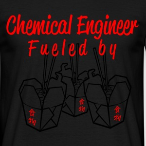 chemical engineer fueled by T-Shirts - Men's T-Shirt