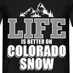 colorado snow T-Shirts - Men's T-Shirt