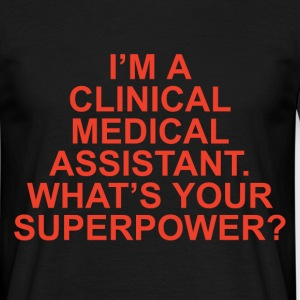 clinical medical assistant T-Shirts - Men's T-Shirt