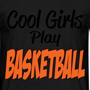 cool girls basketball T-Shirts - Men's T-Shirt