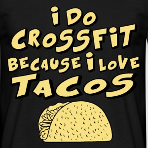 crossfit tacos T-Shirts - Men's T-Shirt