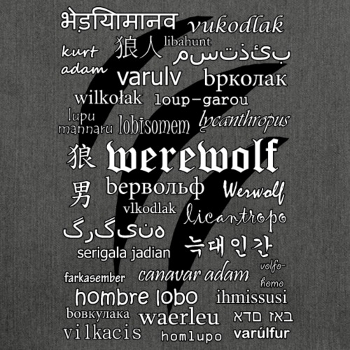 Werewolf in 33 Languages.png
