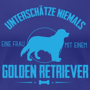 UN Golden Retriever T-Shirts - Frauen Premium T-Shirt
