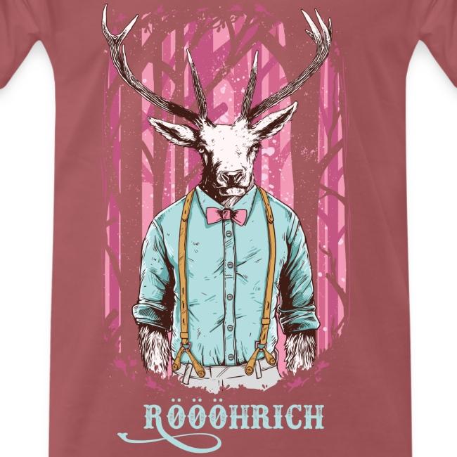 Röhrich der Hirsch