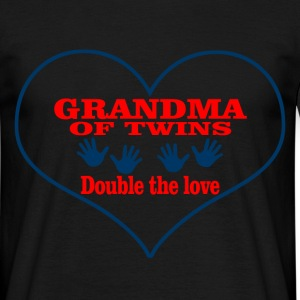 grandma of twins T-Shirts - Men's T-Shirt