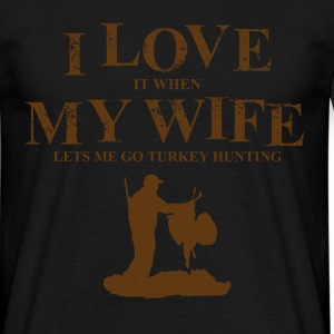 go turkey hunting T-Shirts - Men's T-Shirt