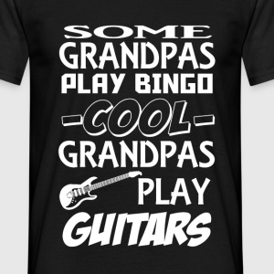 grandpa guitars T-Shirts - Men's T-Shirt