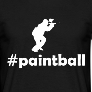 hashtag paintball T-Shirts - Men's T-Shirt