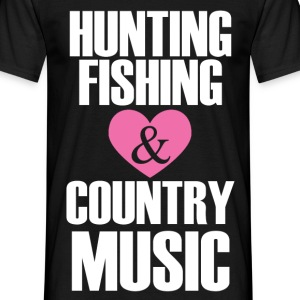 hunting fishing T-Shirts - Men's T-Shirt