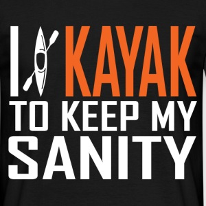 i kayak T-Shirts - Men's T-Shirt
