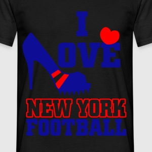 I love new york football T-Shirts - Men's T-Shirt