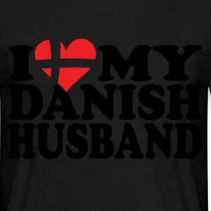 i heart my danish husband T-Shirts - Men's T-Shirt