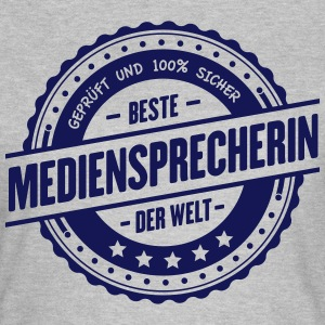 Beste Mediensprecherin T-Shirts - Frauen T-Shirt