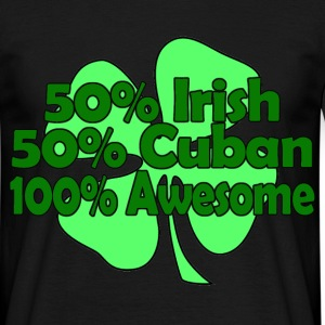 irish cuban awesome T-Shirts - Men's T-Shirt