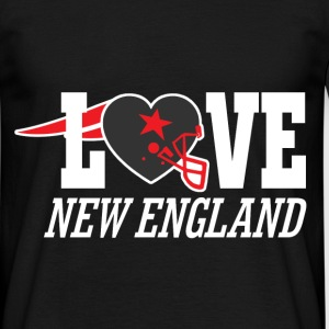 love new england - Men's T-Shirt