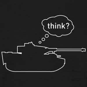 Think Tank, by Caspanero T-Shirts - Men's T-Shirt