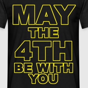 may the 4th be with you T-Shirts - Men's T-Shirt