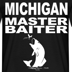 michigan master baiter T-Shirts - Men's T-Shirt