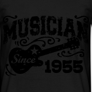 musician since 1955 T-Shirts - Men's T-Shirt