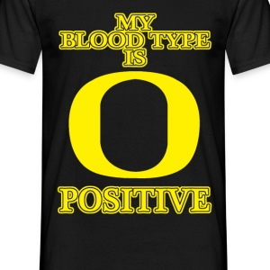 my bloodtype is o positive T-Shirts - Men's T-Shirt