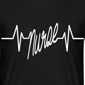 nurse heartbeat T-Shirts - Men's T-Shirt