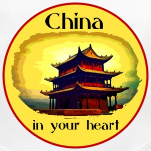 China in your heart - Baby Bio-Lätzchen