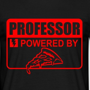 professor powered by - Men's T-Shirt