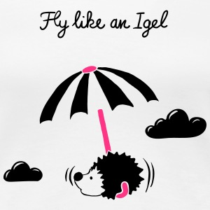 Fly like an Igel - Shirt - Frauen Premium T-Shirt