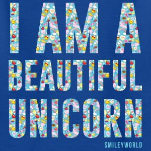 SmileyWorld I am a Beautiful Unicorn - Maglietta per bambini