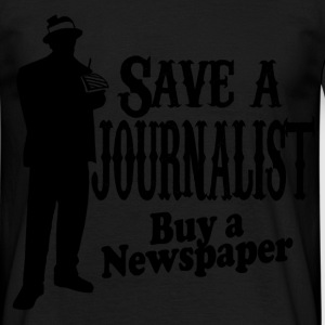 save a journalist T-Shirts - Men's T-Shirt