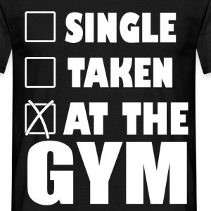 single taken at the gym T-Shirts - Men's T-Shirt