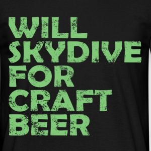 skydive craft beer T-Shirts - Men's T-Shirt
