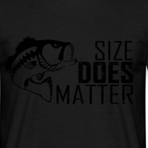 size does matter T-Shirts - Men's T-Shirt