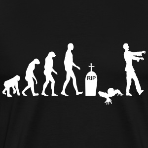 Zombie Evolution, Supernatural - Men's Premium T-Shirt