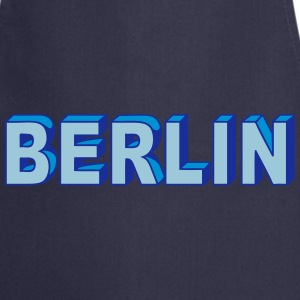 Berlin Block font  Aprons - Cooking Apron