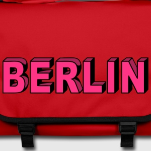 Berlin Block font Bags & Backpacks - Shoulder Bag