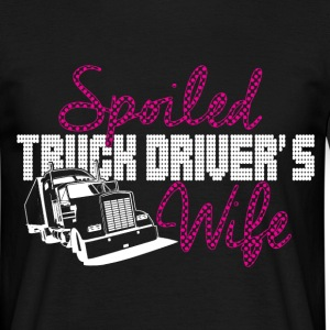 spoiled truck drivers wife T-Shirts - Men's T-Shirt